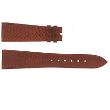 Piaget Original Leather Watch Band 18mm 20mm 21mm 22mm Black Brown Lizard Skin