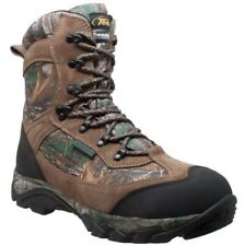 """AdTec Men's 9"""" Suede Waterproof Real Tree Hunting Boot 400g Thinsulate Camo 9627"""