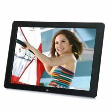 """15"""" inch HD LCD Digital Photo Frame Picture MP4 Movie Player Remote Control CL"""