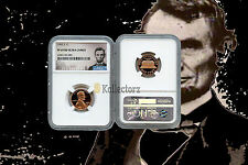 1992 S LINCOLN PENNY PROOF 1c NGC PF69 RD ULTRA CAMEO PORTRAIT LABEL