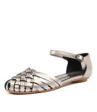 New Gamins Embassy Pewter Womens Shoes Casual Sandals Sandals Flat