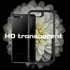 For iPhone 8/8 plus Shockproof Clear Case Hybrid Hard Back Soft TPU Bumper Cover