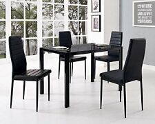2017 NEW Set of 4/8 Elegant Design Leather Contemporary Dining Chairs Home Room