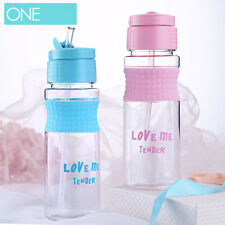 700ml Running Sport Drinks Flip Water Straw 2017 Hiking Bottle Hydration Cycling