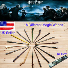 Movie HARRY POTTER Cosplay Magic Wand In Box Gift 18 Different Wands Halloween