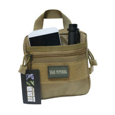 1000D Molle Tactical Military EDC Utility Tool Bag Medical First Aid Pouch OD&DE