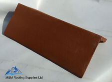 NEW CLAY ANGLE RIDGE TILES / RED/ TERRACOTTA / 375mm long / 90 & 105 degrees