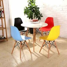 4 x Eames Chairs Sinspire Eiffel DSW Retro Lounge Cafe Office Dining Chair