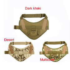 Army Tactical Dog Vests Outdoor Military Hunting Dog Harness Clothe Load Bearing
