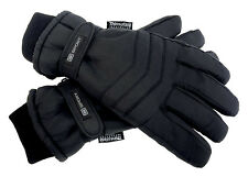 Mens 3M Thinsulate 40 gram Thermal Lined Insulated Waterproof Winter Ski Gloves