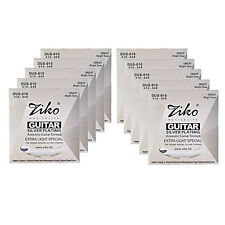 Ziko High Quality Silver Plated Acoustic Guitar Strings 2 Sizes Available UK
