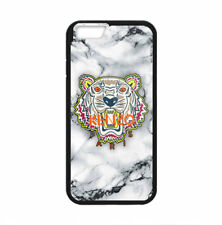 New Kenzo Tiger White Marble Print Hard Plastic Case For iPhone 5s 6 6s 7 (Plus)