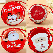 1Pcs Coin Purse Girls Boys Kids Wallet Party Birthday Xmas Tree Decorate Gift