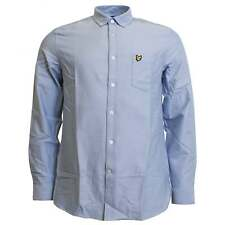 Lyle & Scott Long Sleeve Oxford Shirt Riviera Blue
