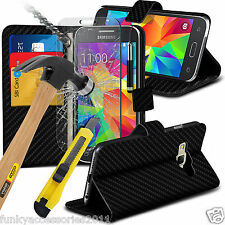 Leather Wallet Book Quality Stand Phone Case✔Tempered Glass Screen Protector