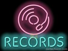Records Buy Sell Trade Neon Sign Bundle Discount Music Store Vinyl Jantec USA