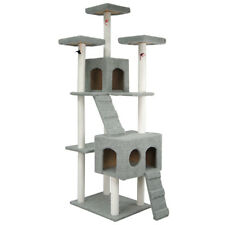 """108"""" Cat Tree Tower Condo Furniture Scratching Post Pet Kitty Play House"""