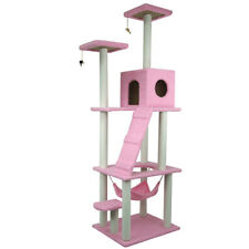 """106"""" Cat Tree Tower Condo Furniture Scratching Post Pet Kitty Play House"""