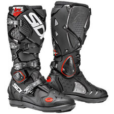Sidi Crossfire 2 SRS Boots Touring Motorcycle Motorbike - Black / Black
