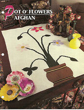 Annie's Attic Crochet Quilt & Afghan Club Afghan Patterns 11 To Choose From