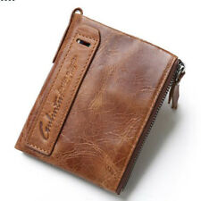 Trend Men Genuine Leather Cowhide Wallet Bifold Coin Purse Card Holder Hot