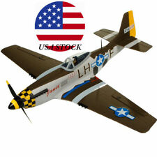 North American P-51D P51D Mustang 680mm Wingspan RC Airplane Warbird KIT