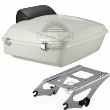 Morocco Gold Pearl Razor Tour Pack Pak Trunk For 14-18  Harley Davidson Touring