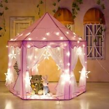 Princess Castle Play Tent Activity Fairy Fun Playhouse XMAS Gift Toy- FROM US