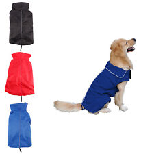 Waterproof Dog Pet Puppy Winter Raincoat Coat Jacket Clothes Reflective Safe