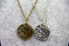Fashion Jewelry Vintage Charm Song Of Ice And Fire Game Of Thrones Targaryen Dra