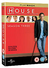 House - Series 3 - Complete (DVD, 2007, 6-Disc Set)