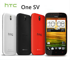 "Unlocked Original HTC One SV 4"" Androd Phone 3G 4G Wifi GPS 5MP/1.6MP Camera"