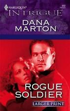 Rogue Soldier 902 by Dana Marton (2006, Paperback, Larger Print) NEW