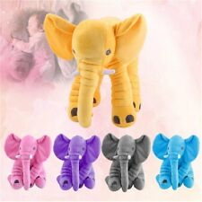 Stuffed Animal Cushion Baby Sleeping Soft Pillow Toy Cute Elephant Best Gift LN