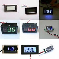 Digital DC Volt Voltage LCD LED Measure Panel Meter Voltmeter Gauges Shunt 50A