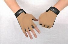 Fashion Sports  Mittens Workout Fingerless Gloves Best Antiskid Cycling Hunting