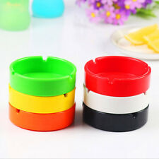 Creative Round Colored Melamine Ashtray Cafe Bar Hotel KTV Ashtray