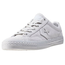 Converse Star Player Ox Mens White Suede Casual Trainers Lace-up New Style
