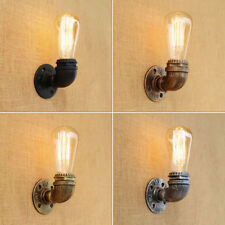 Delicate Retro Style Water Pipe Wall Light Bedside Hallway Stairway Led Lamp