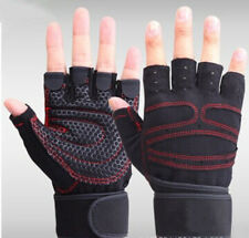 Exercise Bicycle Fingerless Gloves Tactical Half Finger Weight Lifting Cycling