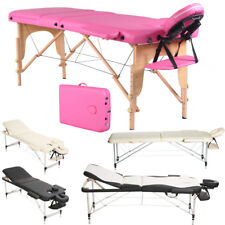 Protable Adjustable Massage Table Beauty Therapy Couch Chair Bed & Carrying Bag