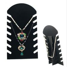 Display Stand Necklace 1 Pcs Jewelry Display Chain Pendant Holder Velvet Stand