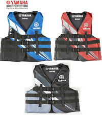 YAMAHA 2018 Men's Nylon 3-Buckle PFD Life Jacket Vest USCG Apvd MAR-18V3B Colors