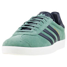 adidas Gazelle Mens Trainers Green Black New Shoes