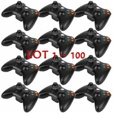 LOT100 OEM Official Genuine Microsoft xbox 360 Wireless Controller Glossy Black~