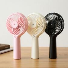 Spray Humidifier Cooling Fan Handheld Air Cooler Operated Desk USB Battery