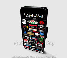 Friends TV Show Wallet iPhone Cases TV Show Samsung Wallet Leather Phone Cases