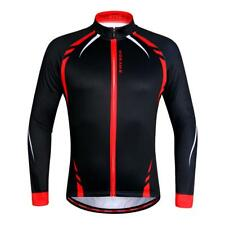 Breathable & Lightweight Jersey Long Sleeve Thermal Fleece Cycling Jacket
