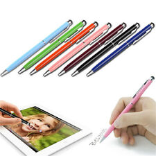 1~10X 2 in1 Touch Screen Stylus Ballpoint Pen for iPad iPhone Samsung Tablet LE