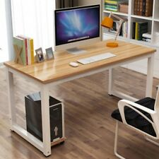 Computer Desk PC Laptop Wood Simple Table Study Desk  - Multi color- 1.1m